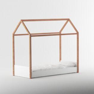 Cama casita Montessori